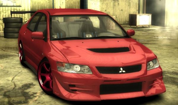 Новые текстуры для Mitsubishi Lancer Evolution IX MR