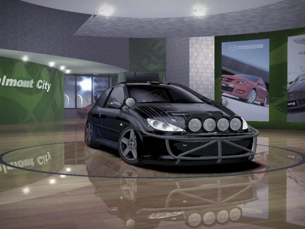 "Peugeot 206RC ""Rally"""