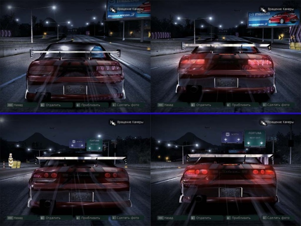 Новая задняя оптика для Nissan 240sx