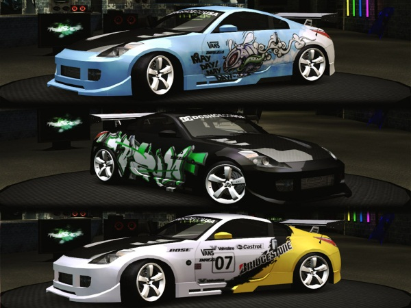Nissan 350Z Mini Pack Vinyl