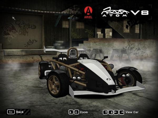 2011 Ariel Atom 500 V8