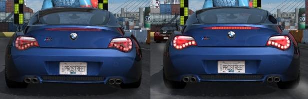 Задняя оптика для BMW Z4