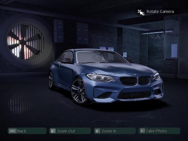 2016 BMW M2 F87