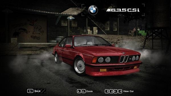 1984 BMW M635 CSi