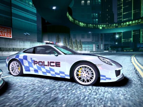 2015 Porsche 911 Carrera S Police