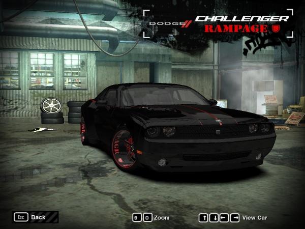 "2011 Dodge Challenger ""Rampage"" SRT8"