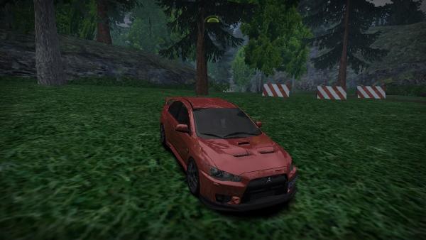 2012 Mitsubishi Lancer Evolution X MR