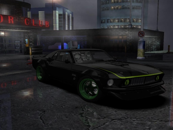 Team Need for Speed Ford Mustang RTR-X