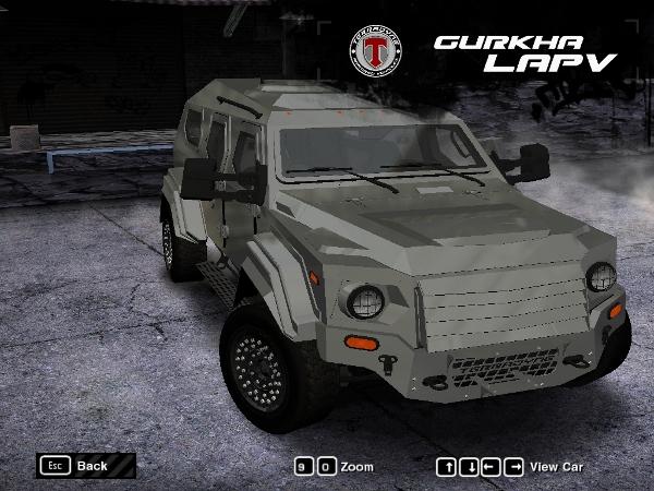 2014 Terradyne Gurkha LAPV