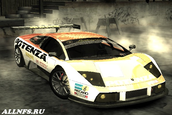 Lamborgini Murcielago R-GT