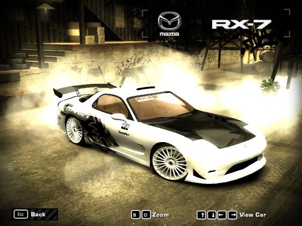 Mazda RX-7 NFSU Kurt Vinyl