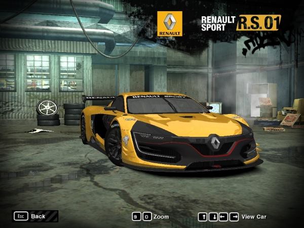 2014 Renault Sport R.S.01