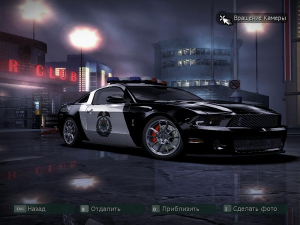 Ford Shelby GT500 Police