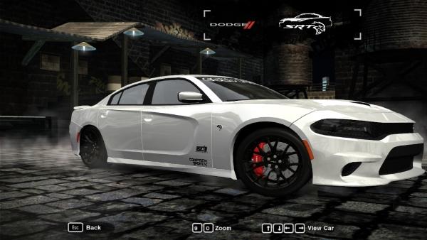 Черные диски для Charger SRT Hellcat