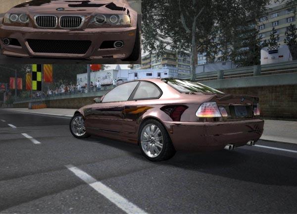 Новая оптика для BMW M3 E46