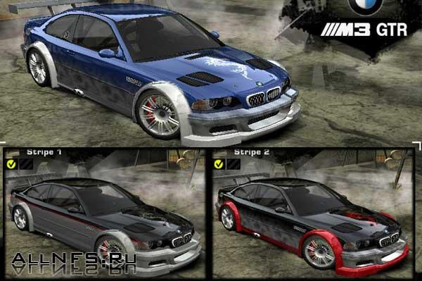 BMW M3 GTR E46 Vinils