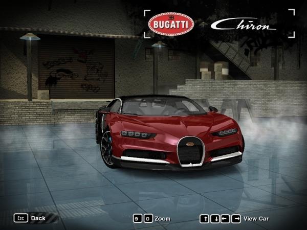 2017 Bugatti Chiron [ДОБАВОЧНЫЙ]