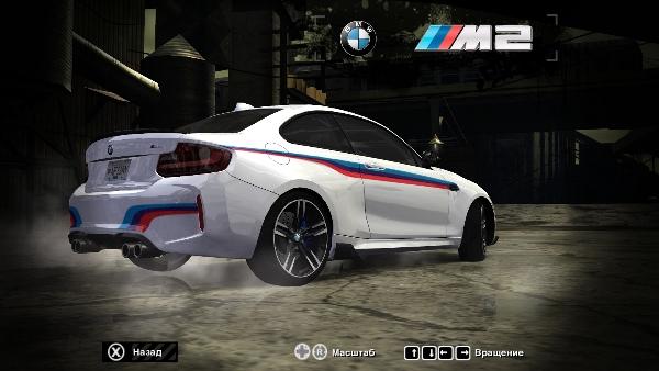 "BMW M2 F87 ""M stripes"""