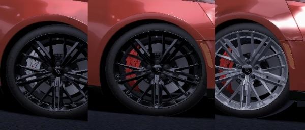 Новые текстуры для Chevrolet Camaro ZL1