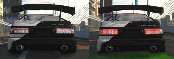 Задняя оптика для Toyota Corolla AE86