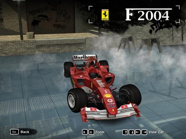 2004 Ferrari F2004