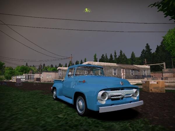 1956 Ford F100 Custom Cab V8