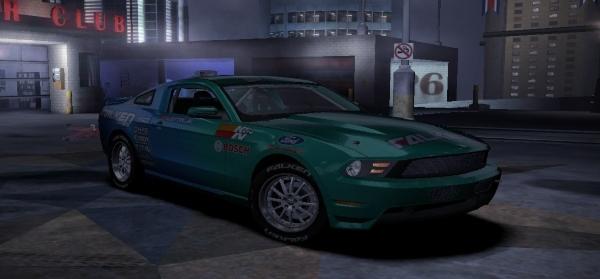 Ford Mustang GT Falken Tire