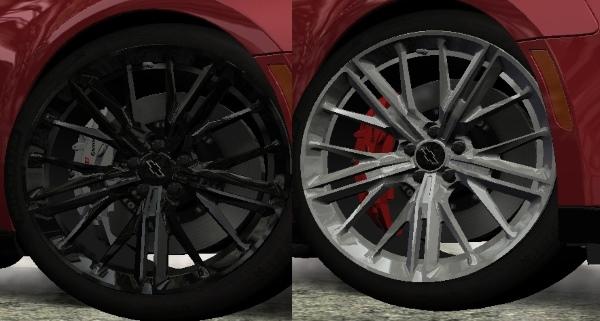 Новые текстуры для Chevrolet Camaro ZL1 '17
