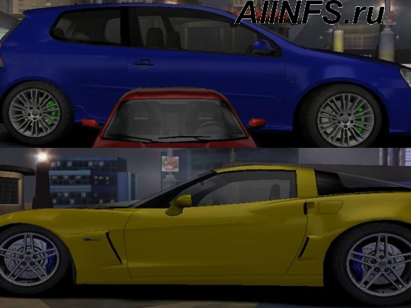 New Car textures Pack 1 For NFS Carbon