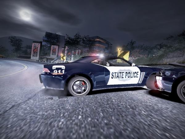 NFS UC Ford Mustang Police