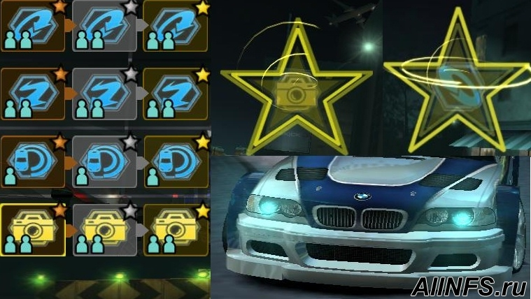 NFS Carbon In Game Texture Pack