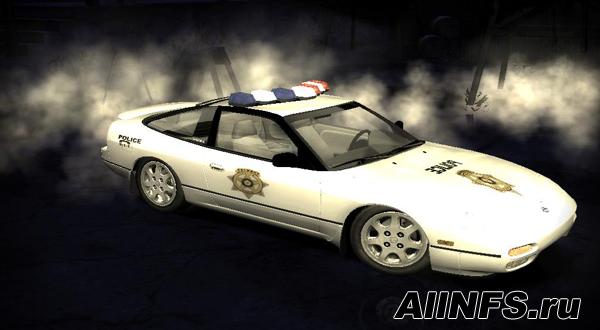 Nissan 240SX Police