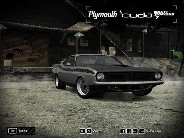 1970 Plymouth 'Cuda Fast7