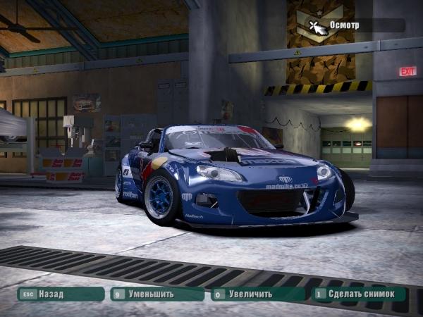"""2015 Mazda MX5 """"RAD BUL"""""""
