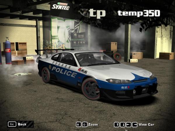 Nissan Silvia (S15) Touge Cop