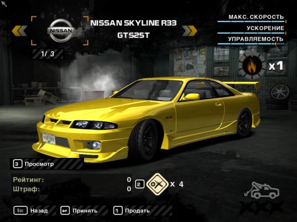 Nissan Skyline ECR33 GTS25t