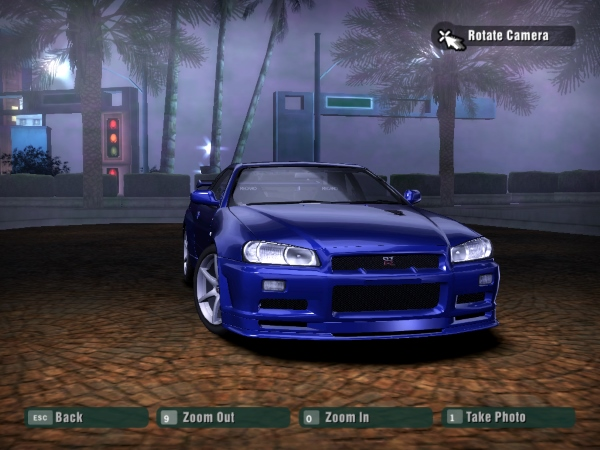 2002 Nissan Skyline GT-R V-Spec II Nur (R34)