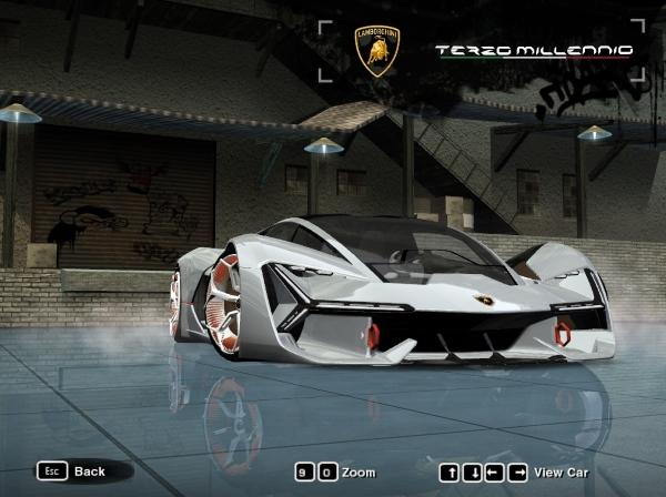 2018 Lamborghini Terzo Millennio