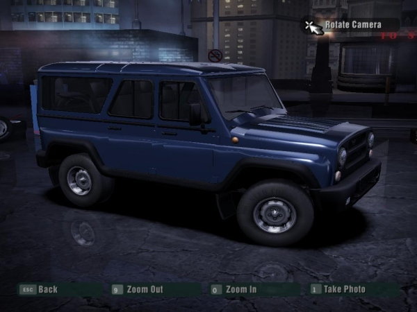 UAZ Hunter/Patriot