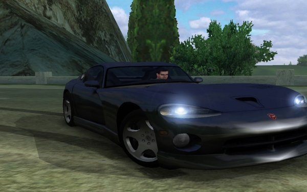 New textures for Dodge Viper GTS